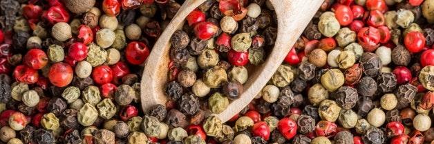 Les différents types de poivre